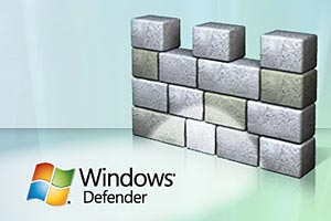 muur en windows logo